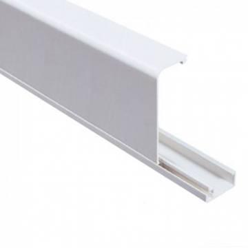 Короб плинтусный DKC 100х40 мм белый