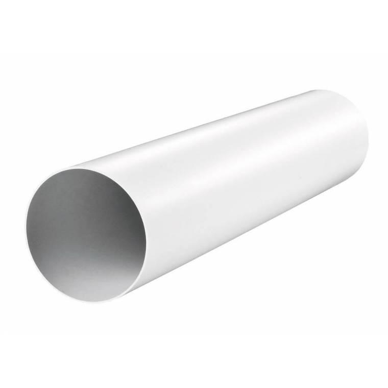 Канал пластиковый круглый (125мм*1м)