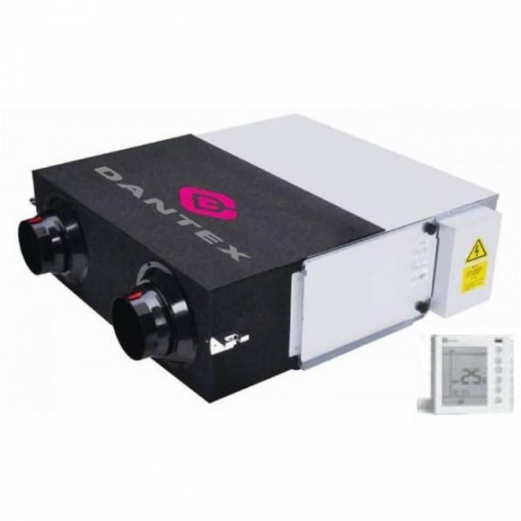 Приточно-вытяжная установка с рекуперацией Dantex DV-1000HRE/PS
